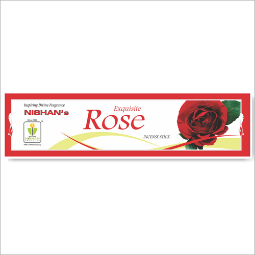 Rose Incense Sticks Small Pouch Pack
