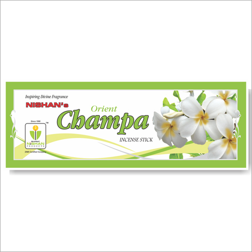 Champa Incense Sticks Regular Pouch Pack