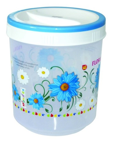Plastic Printed Container SPICY 7000