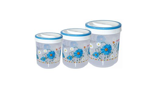 Plastic Foil Printed Container SPICY 512 SET