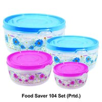 Plastic Container Food Saver 104(Set of 4)