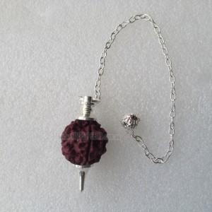 Rudraksha Metal Pendulums