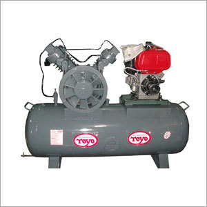Double Stage Three Cylinder Air Compressor