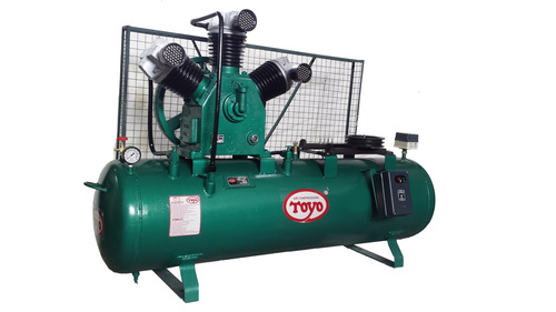 Single Stage Three Cylinder Air Compressor