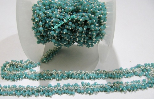 Hydro Quartz Amazonite Angoori Chain