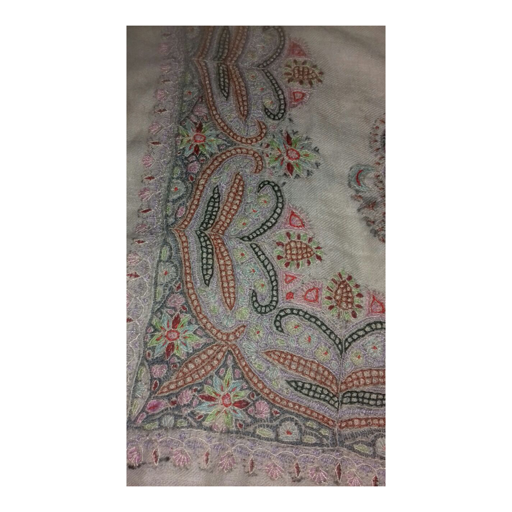 Ladies Pure Embroidered Pashmina Shawl