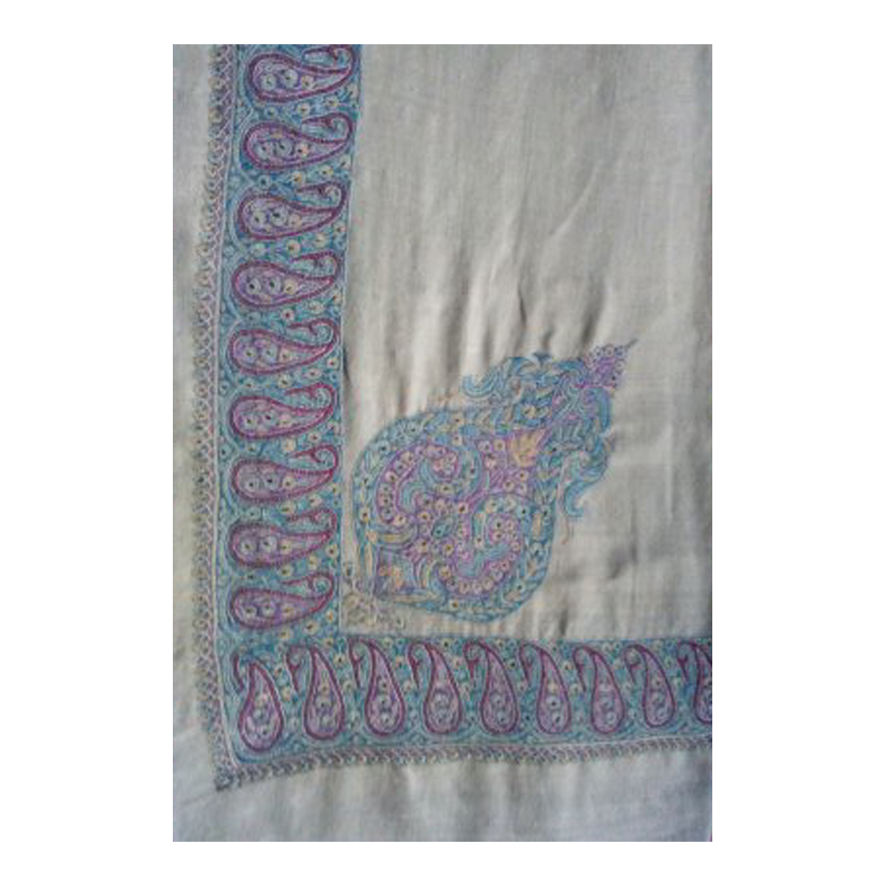 Ladies Designer Hand Embroidered Pashmina Shawl