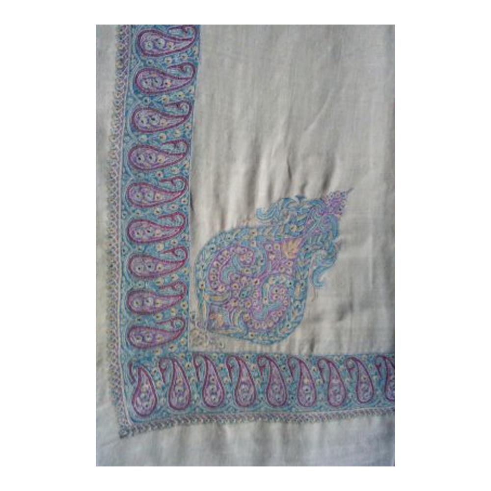 Ladies Designer Hand Embroidered Pashmina Shawl