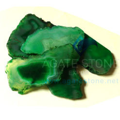 Green Onyx Slices