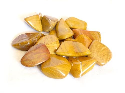 Yellow Jasper Rough Tumbled Stone