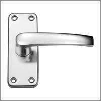 LEVER ON LATCH BACK  PLATE 100X40