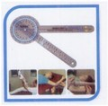 Baseline Absolute Axis 360* Clear Plastic Goniometer