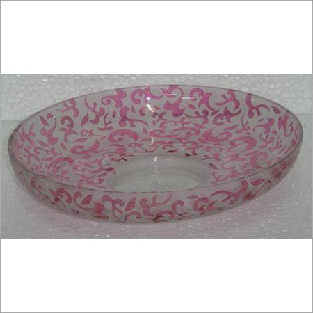Designer Glass Tray