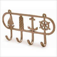 Brass Clothes Wall Hanging