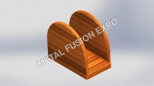 wooden napkin holder