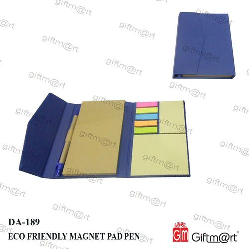 Magnetic eco Friendly memo pad