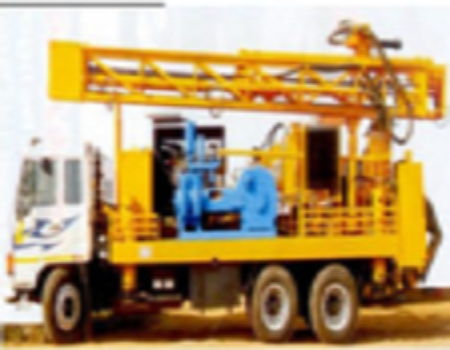 Truck Mounted Mud Rotary Water Well Rig