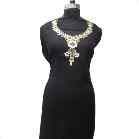 Ladies Black Rayon Kurta