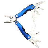 Stainless Steel 11-In-1 multitool Pliers Portable Compact Knives