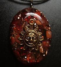Blazing Sun - Orgone Pendant