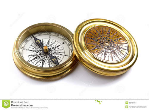 NauticalMart Brass Pocket Compass