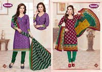 COTTON PRINTED UNSTITCHED DRESS MATERIALS TANESH PARI VOL-9