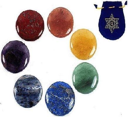 7 Chakra Meditation Stones