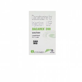 Dacarex Dacarbazine 200 mg Injection
