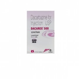 Dacarex Dacarbazine 500 mg Injection