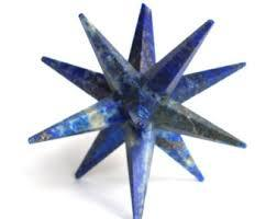 Lapiz Luzilli Flower of Life 12 point Star