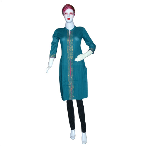 Stylish Plain Kurti