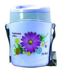WONDER INSULATED PLASTIC TIFFIN WITH STEEL KATORI HOTLINE 3