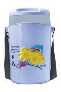 WONDER INSULATED PLASTIC TIFFIN WITH STEEL KATORI HOTLINE 4