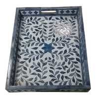 Bone Inlaid Tray