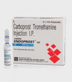 Endoprost Carboprost 250 mcg Injection