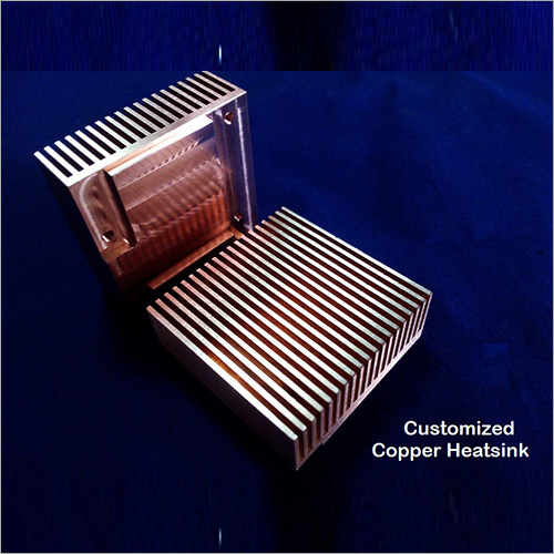 Customized Copper Heat Sink