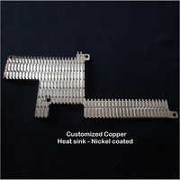 Customized Copper Heat Sink - Nickel coated