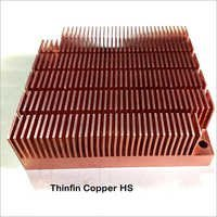 Copper Thinfin Heat sink