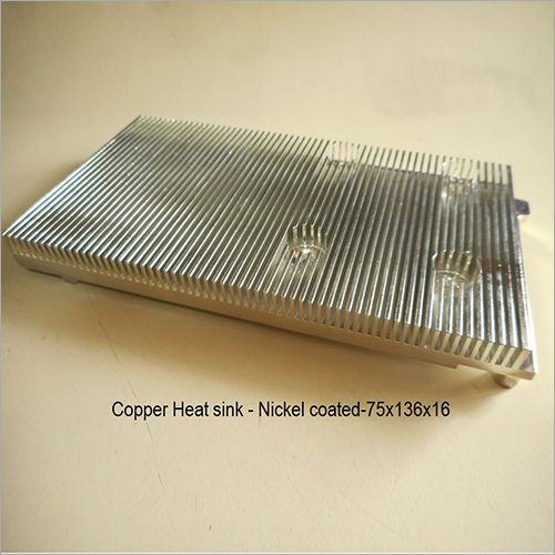 Nickel Coated Copper Heat Sink