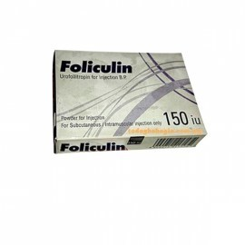 Foliculin Urofollitropin 150 I.U. Injection