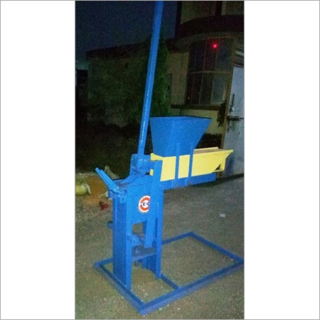 Manual Interlocking Brick Machine