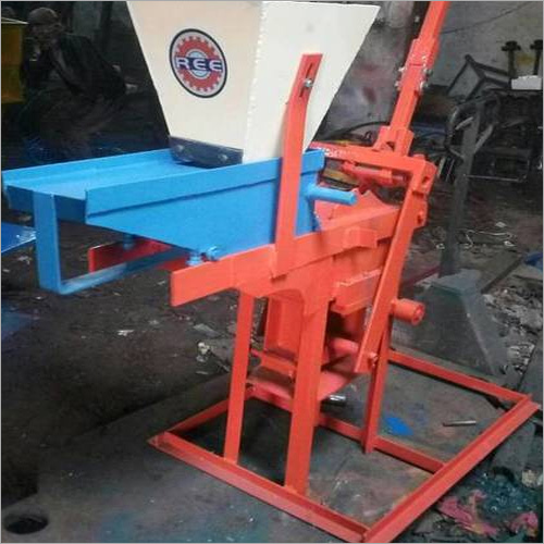 Compressed Earth Block Machine