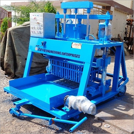 Movable Hollow Block Machine
