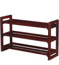 Wooden Shoe Rack Mango wood