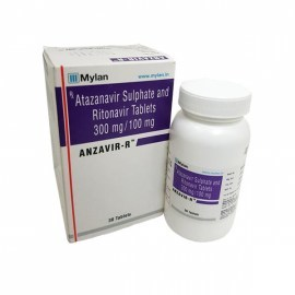 Anzavir R - Atazanavir 300 mg & Ritonavir 100 mg Tablets