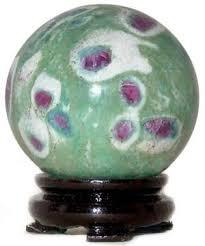 Ruby Fuschite Spheres