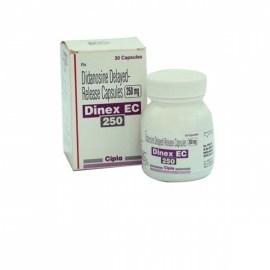 Dinex EC Didanosine 250 mg Capsules