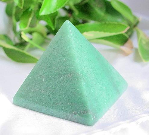 Green Aventurine Gemstone Pyramid