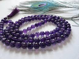 Amethyst Jap Mala 108 Beads