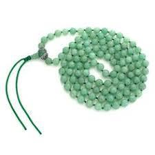 Green Aventurine Jap Mala 108 Beads